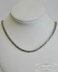 Ezüst király lánc 61,5 cm