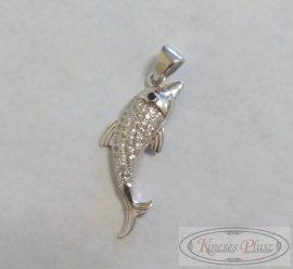 Ezüst medál delfin