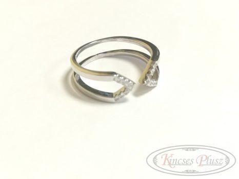 Ezüst gyűrű állítható 53-55'