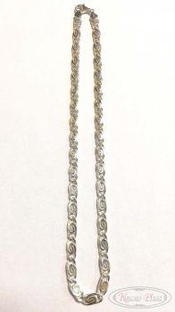 Ezüst lánc charles 50cm