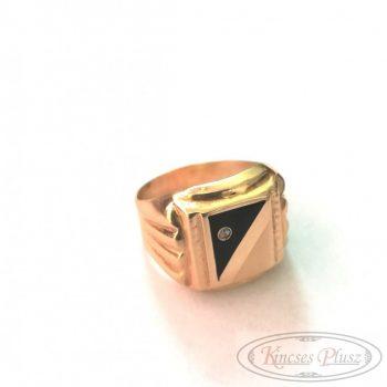 Felújított arany pecsét gyűrű 61