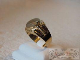 Arany pecsétgyűrű 66-os méret