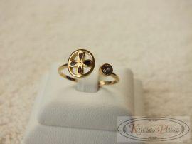 Arany állítható gyűrű