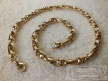 """Arany """"Barakka"""" nyaklánc 60 cm hosszú"""