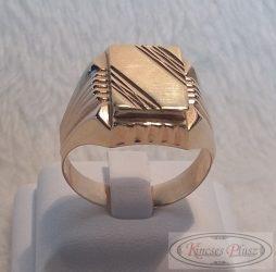 Férfi pecsétgyűrű 68,5-es méret