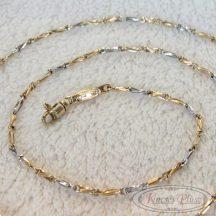 Arany lánc modern fazon 54cm