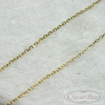 Arany nyaklánc vékony anker fazon 45cm-es