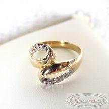 Arany gyűrű 55-ös méret