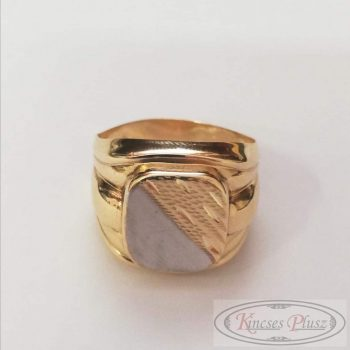Arany pecsétgyűrű 64'