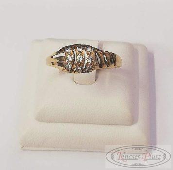 Felújított arany gyűrű 62'