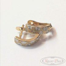 Felújított arany fülbevaló