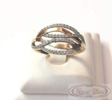 Felújított arany gyűrű 56'