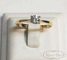 Arany gyűrű soliter 56'