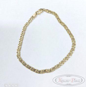 Arany karlánc 18cm charles