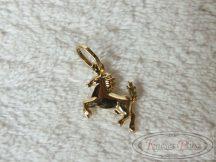 Arany kis ló medál