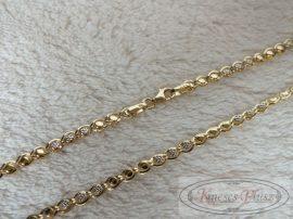 Arany nyaklánc 50,0 cm hosszban