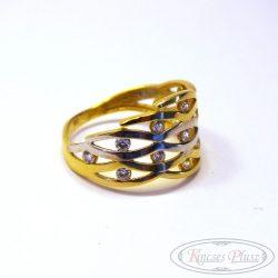 Arany gyűrű köves 51-es méret