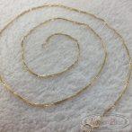 Arany nyaklánc vékony 50 cm hosszú