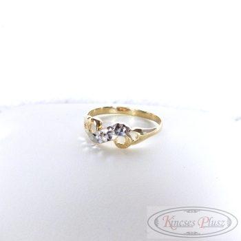 Arany gyűrű 52és feles méret