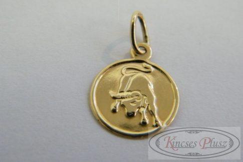 Arany medál bika horoszkóp mintával