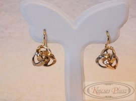 Arany női fülbevaló patent záras