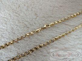 Arany nyaklánc 57 cm hosszú