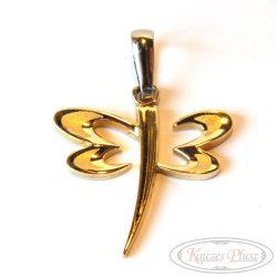 Arany szitakötő medál