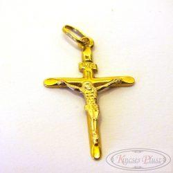 Felújított arany Corpusz kerszt medál