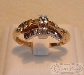 14K arany gyűrű 57,5-es méret