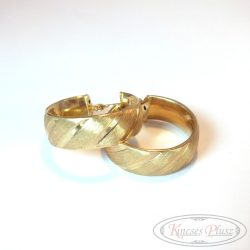 Arany karika fülbevaló