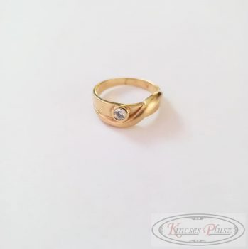 Köves arany gyűrű 54,5-es méret