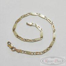 Arany karlánc charles-lap fazonban 19 cm