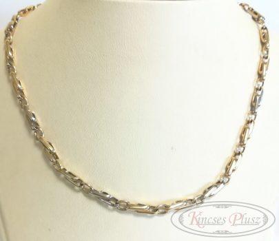 Arany lánc modern fazon 45cm