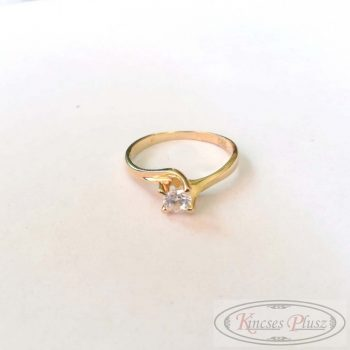 Arany gyűrű soliter fazon 52'