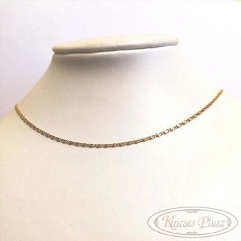 Felújított arany lánc charles 50cm 18karátos