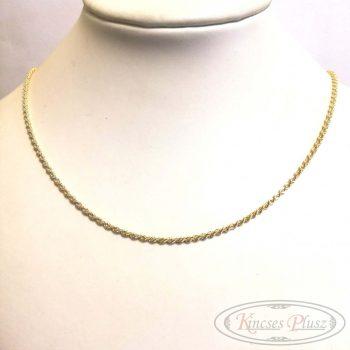 Arany lánc walles 45cm
