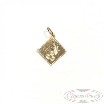 Felújított arany medál lap női