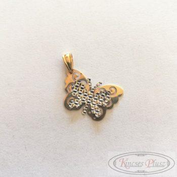 Felújított arany medál pillangó