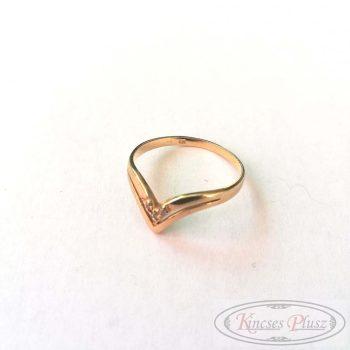Felújított arany gyűrű 61,5'