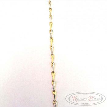 Arany karlánc  glides 21cm