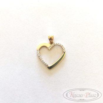 Arany medál szív