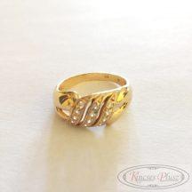Felújított arany gyűrű  61