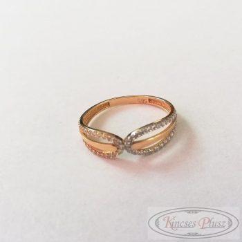 Arany gyűrű 58' köves