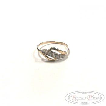 Arany gyűrű 57' sokköves