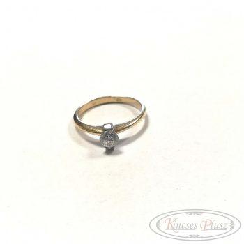Arany gyűrű 54' soliter
