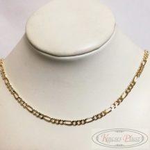 Arany lánc cartier 55cm