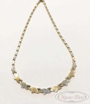 Felújított arany nyakék