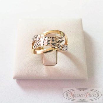 arany gyűrű széles fazon 56,5'