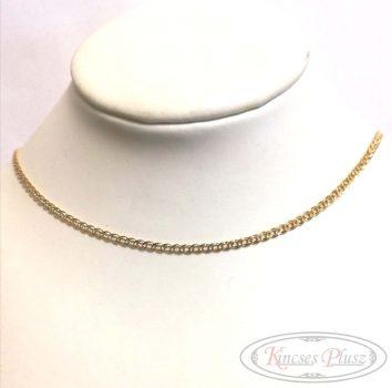 Arany lánc monalisa fazon 50cm
