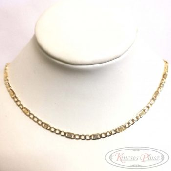 Arany lánc unisex fazon 50cm